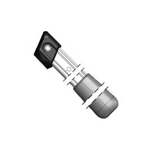 Ersatzteilset 211/22 Griffe aus Aluminium Länge 26 cm